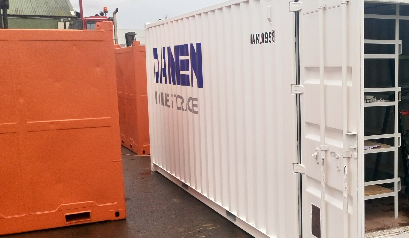 The Damen Mobile Storange can be delivered to any location due to the customer request.