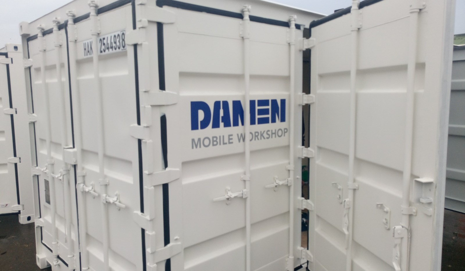 The Damen Mobile Workshop can be transported to any desired location.