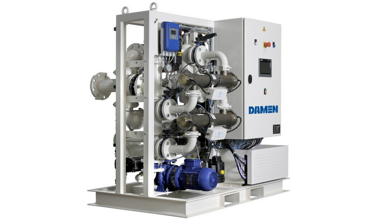 Damen LoFlo, powered by BioSea, is designed as a solution for vessels requiring a lower capacity treatment system.
